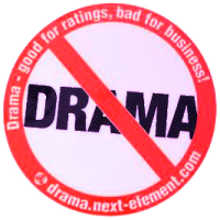 no-drama-sticker 304