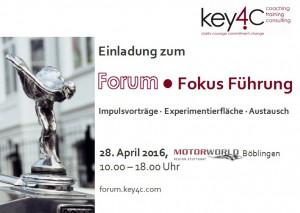 key4c_ForumFokusFührung_20160428_Einladung