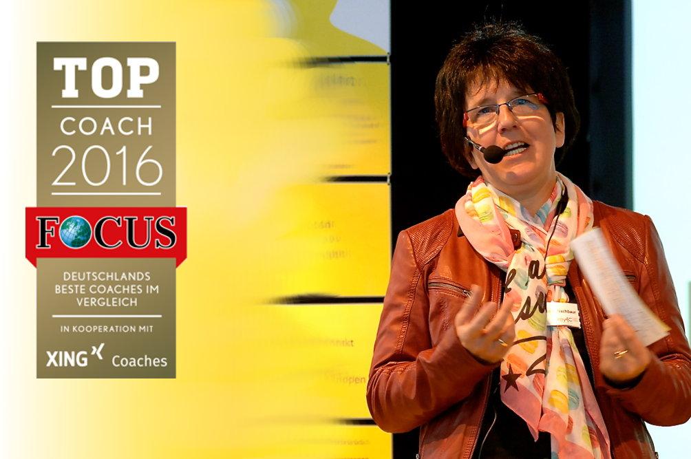 FOCUS Network und XING: Dr. Uta Nachbaur ist TOP Coach2016
