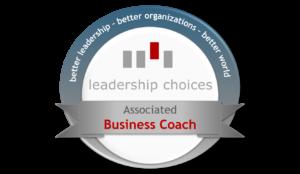 Leadership Choices Associate Business Coach Badge