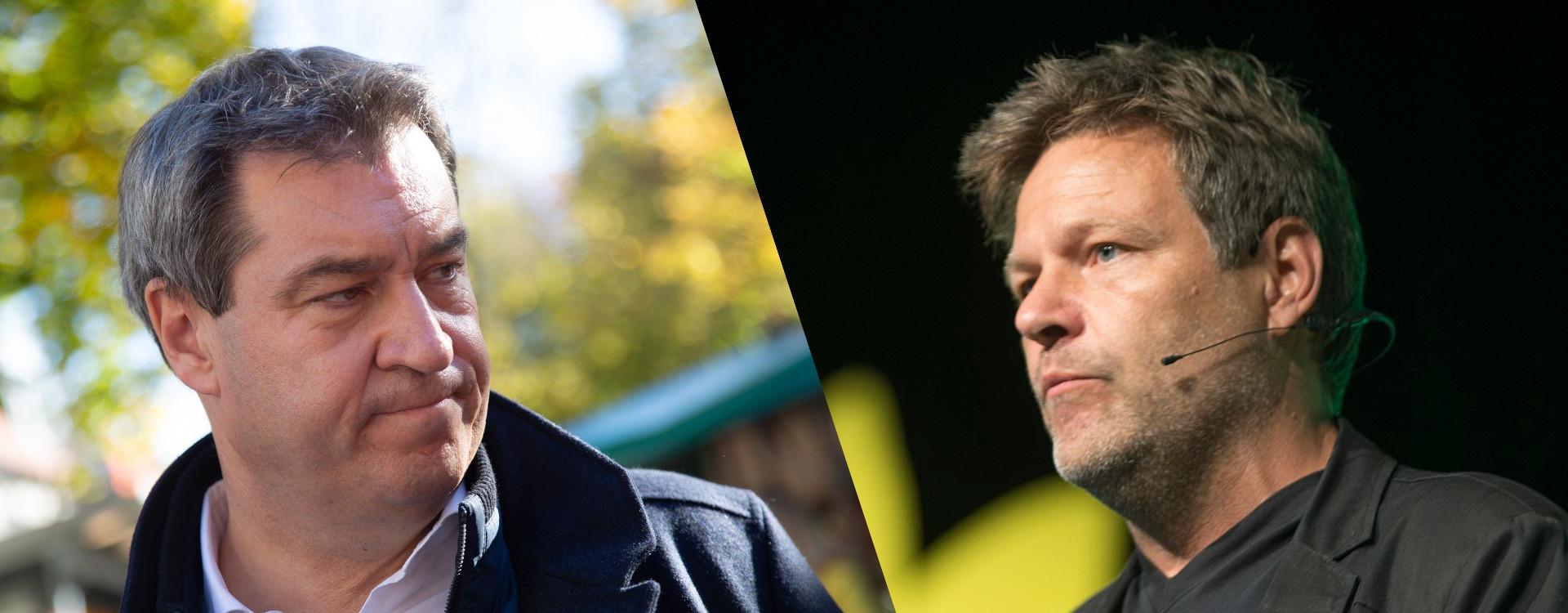 R. Habeck and M. Söder - Opfer der Kandidaten-Kür