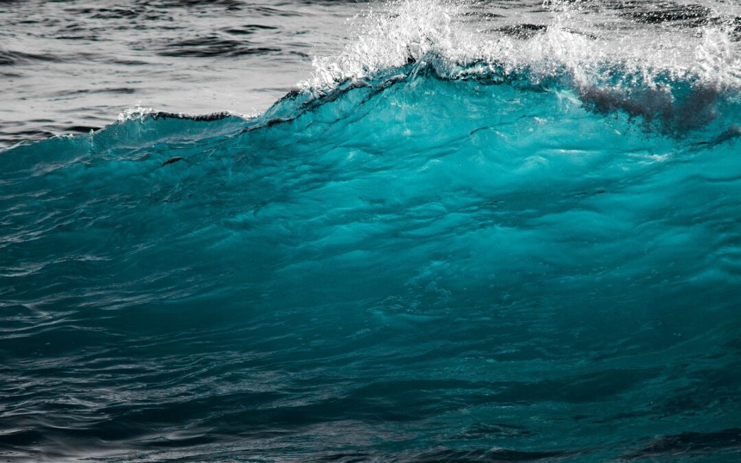 Hör auf gegen die Welle zu kämpfen, surfe!